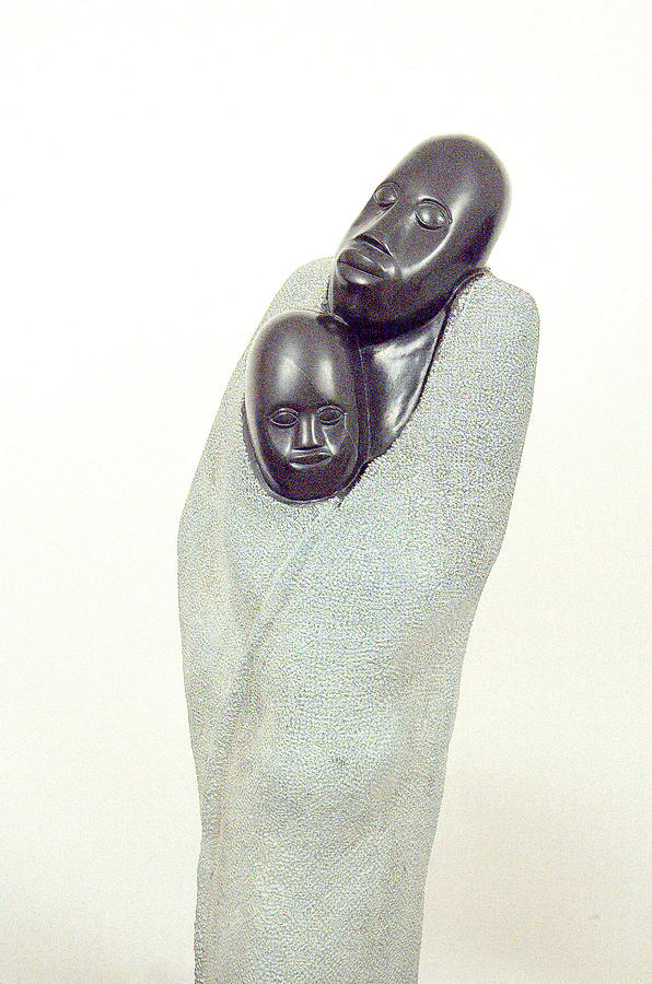 Protecting Mother Sculpture by Sylvester Mubayi
