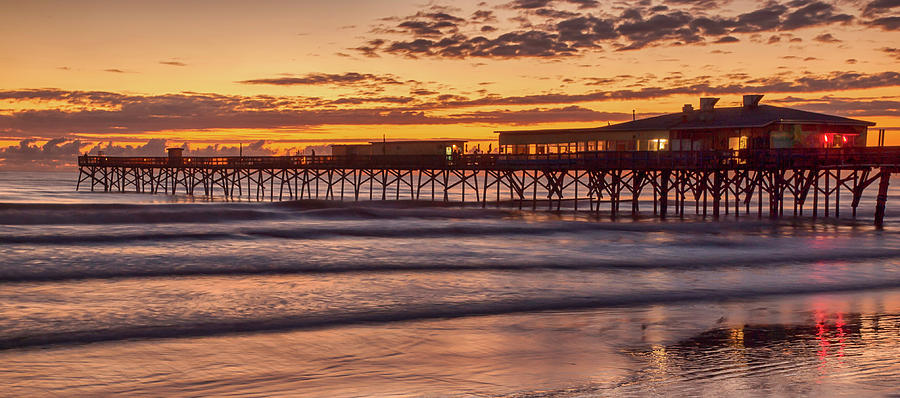 Pier Photograph - Proud Pier by Rob Wilson