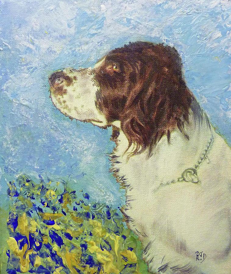 Proud Spaniel Painting