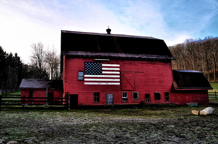 Proud Photograph - Proud To Be American by Bill Cannon