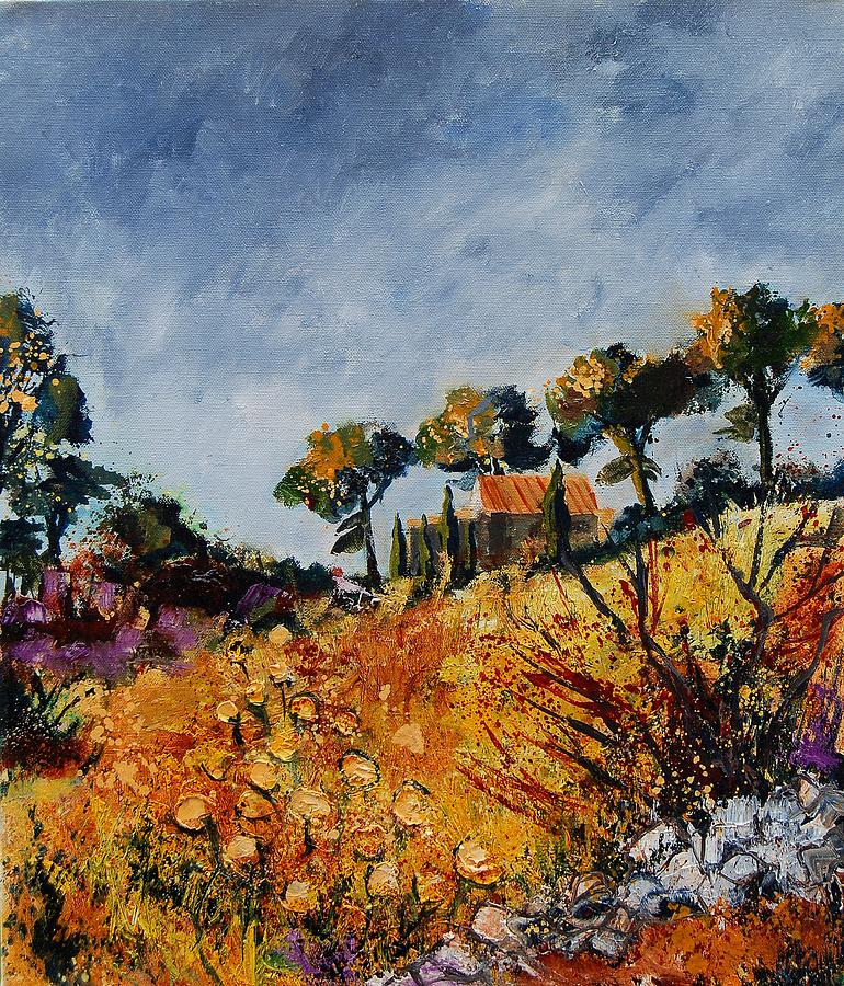 Provence Painting - Provence 6741254 by Pol Ledent