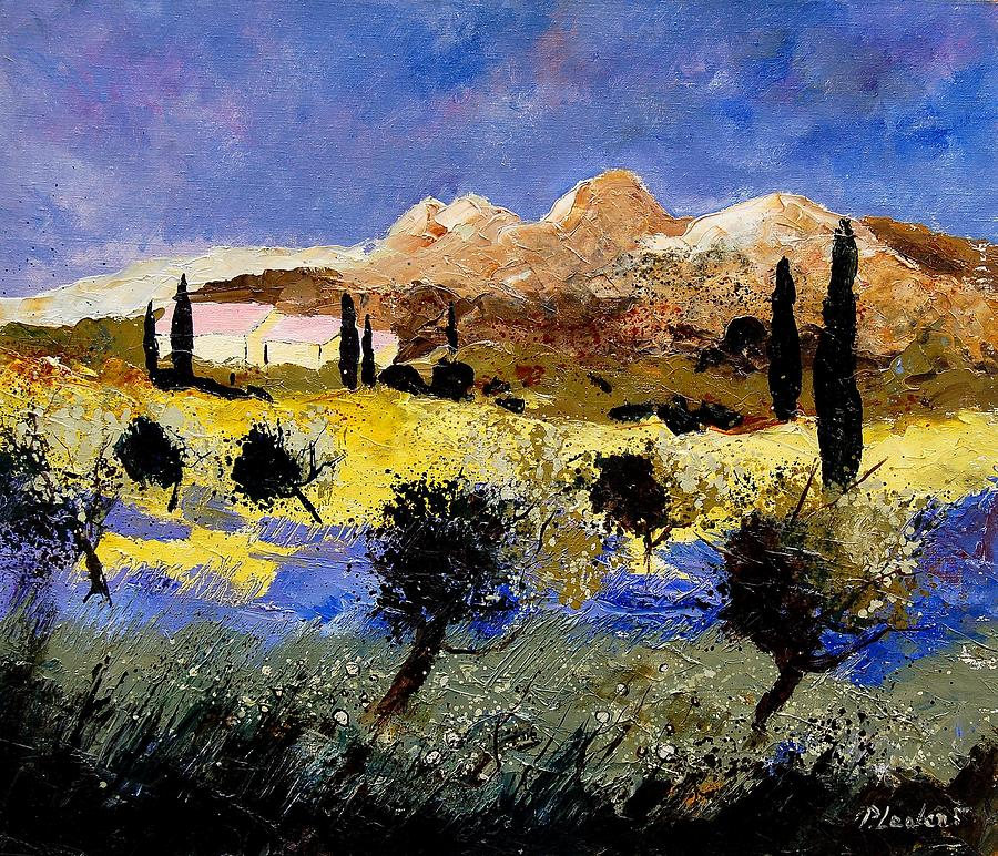 Provence Painting - Provence 674525 by Pol Ledent