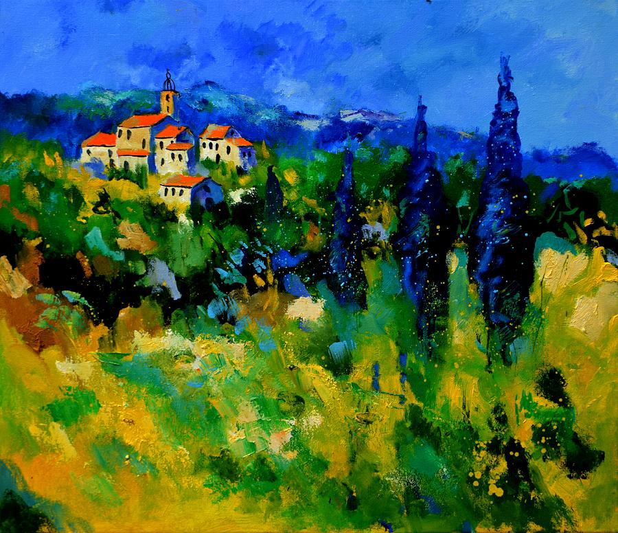 Landscape Painting - Provence 768110 by Pol Ledent
