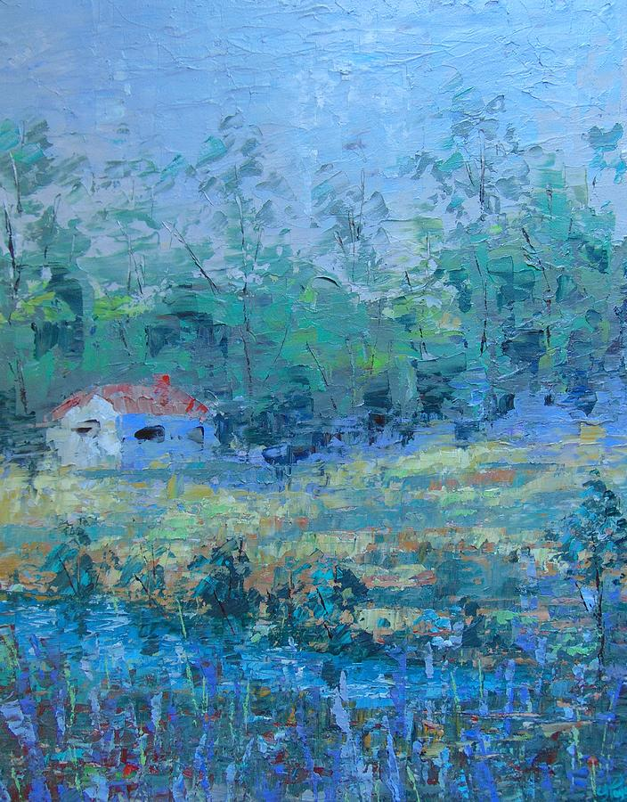 Landscape Painting - Provence by Frederic Payet