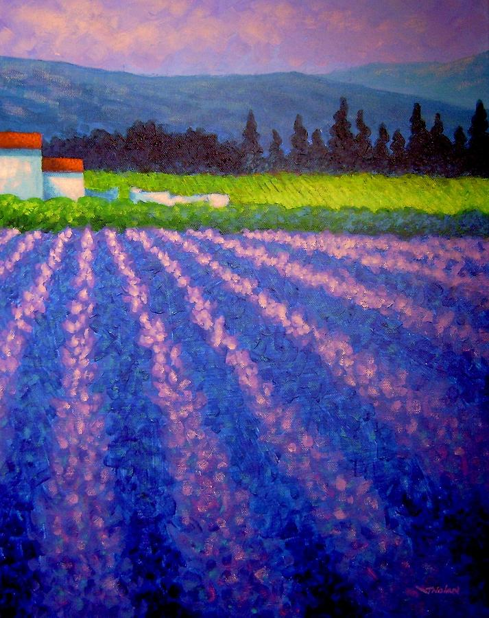 Landscape Painting - Provence by John  Nolan