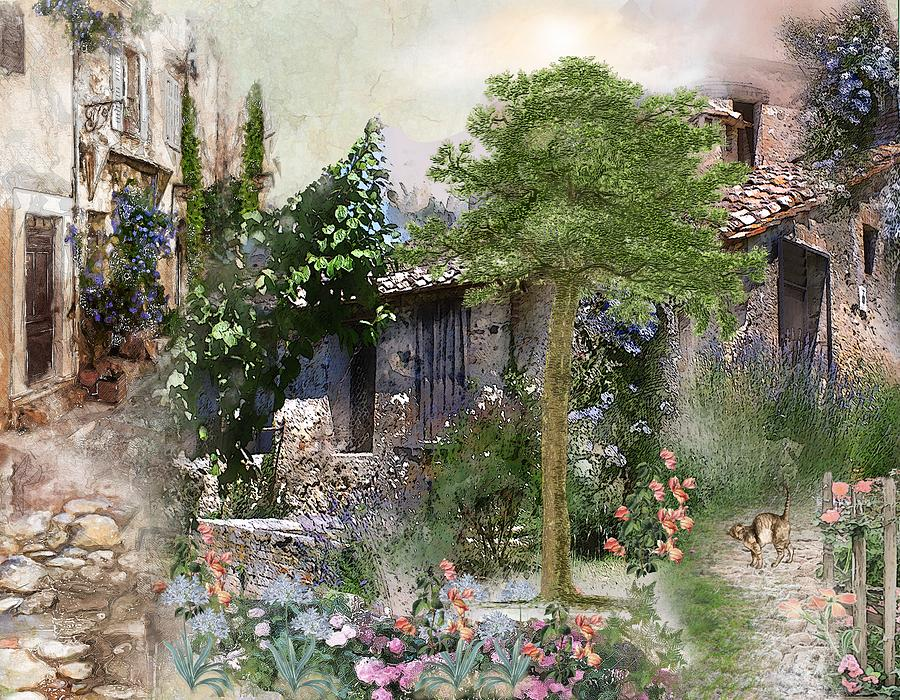 Landscapes Painting - Provence by Laura Botsford