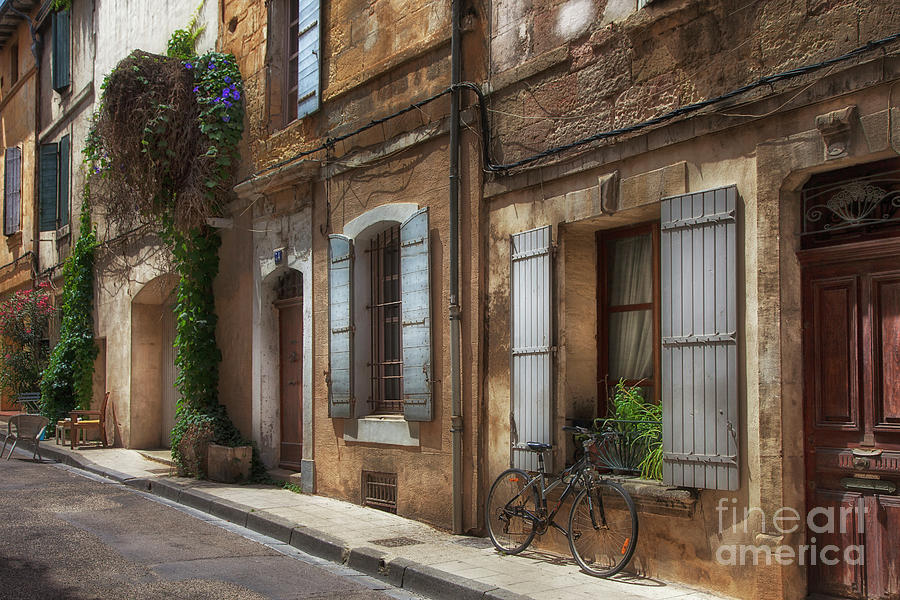 Provence Street Scene by Timothy Johnson