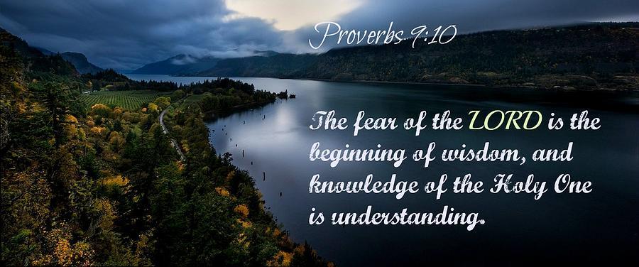 Proverbs114 Photograph by David Norman