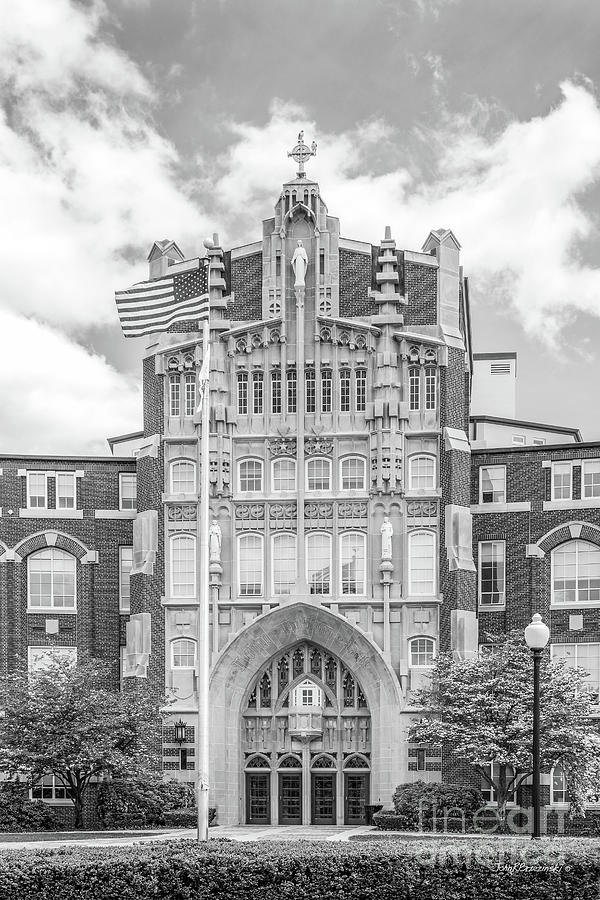 Providence Photograph - Providence College Harkins Hall by University Icons