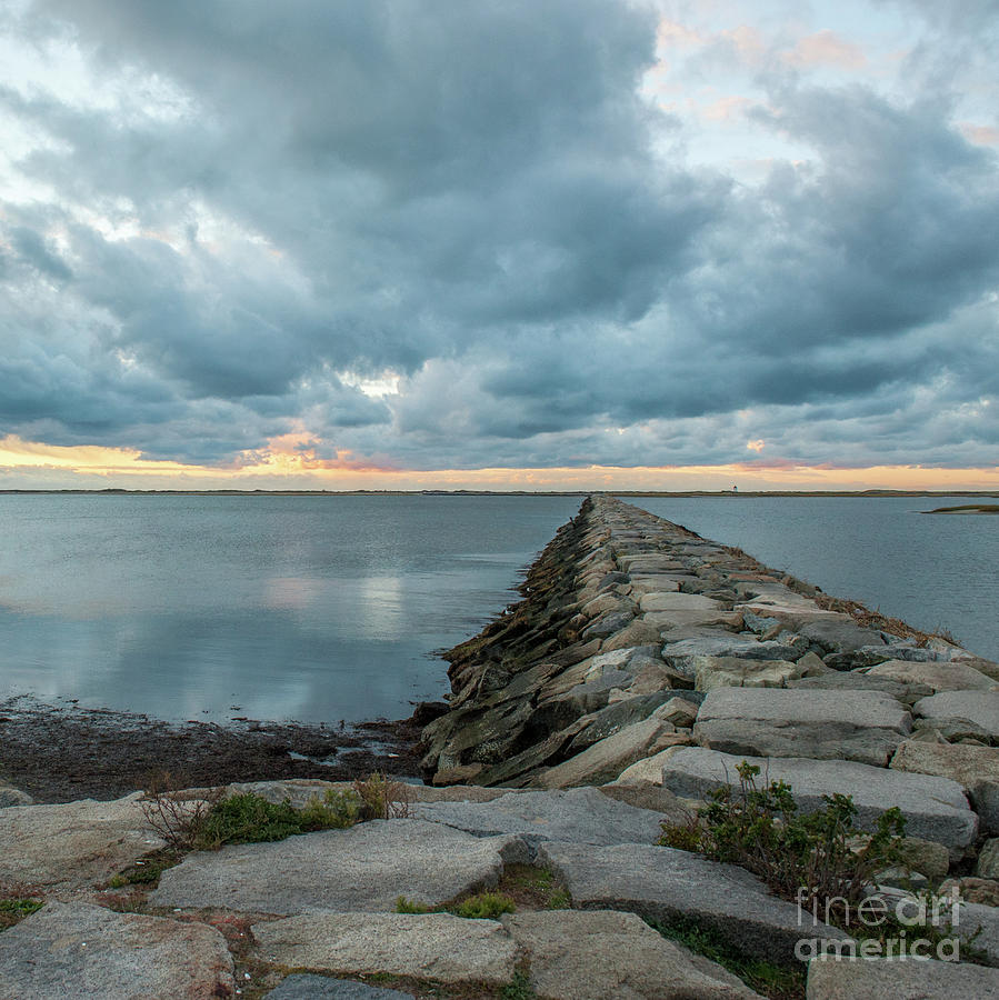 Provincetown Breakwater #3 by Michael James