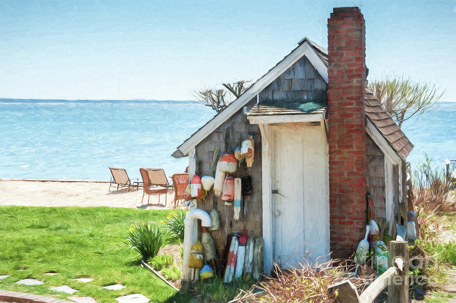 Provincetown Shed by Michael James