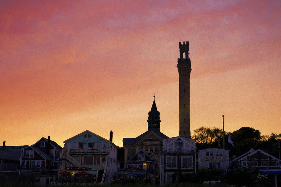 Provincetown Sunset by David Gordon
