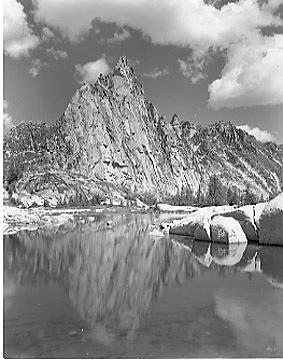Wilderness Photograph - Prusik Peak 620.3 by Paul Schaufler