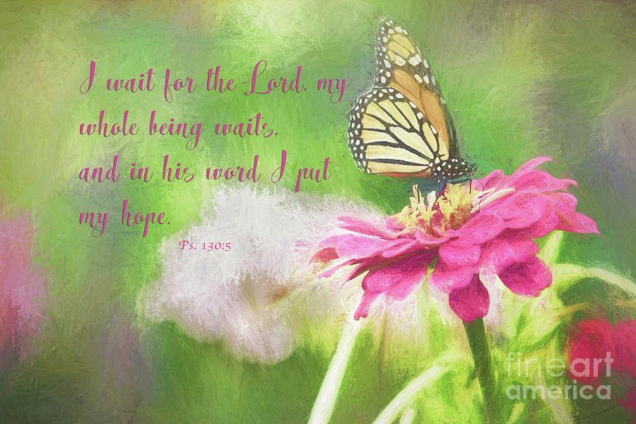 Psalm 130 Photograph