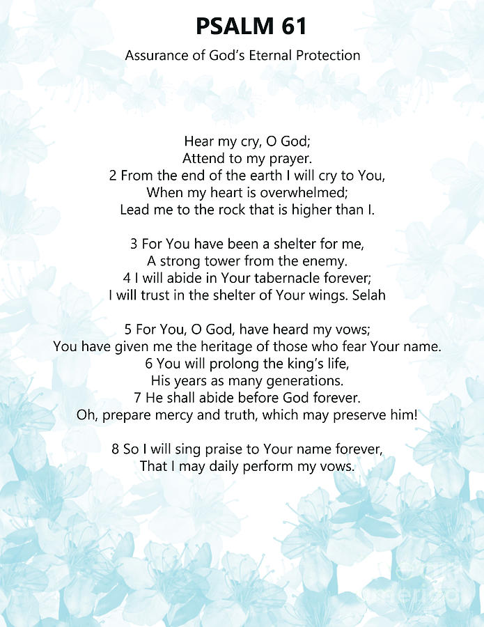 Psalm 61 by Trilby Cole