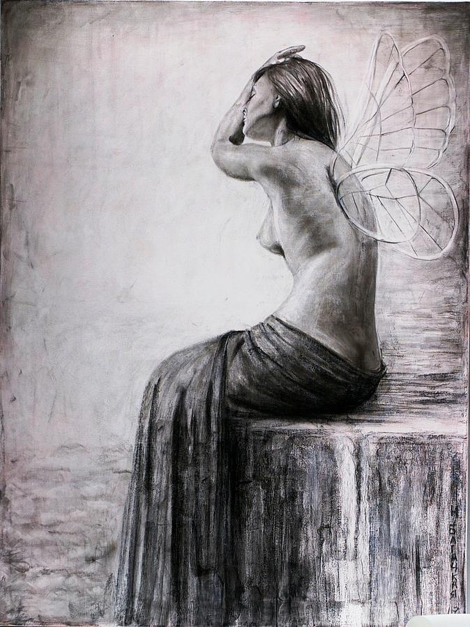 Psyche Drawing - Psyche by Nataliya Bagatskaya
