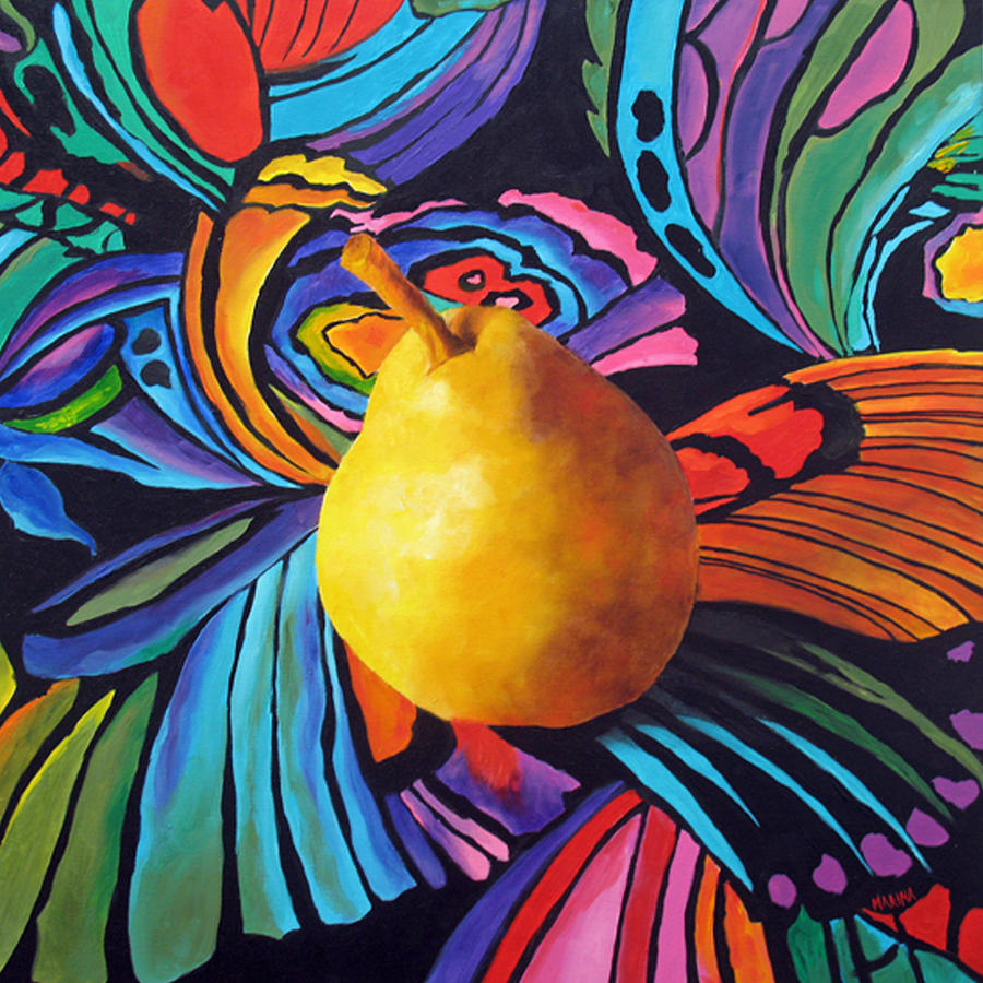 Psychedelic Pear by Marina Petro