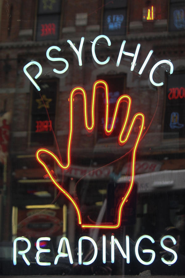 Psychic Readings Photograph - Psychic Readings by Heidi Brandt