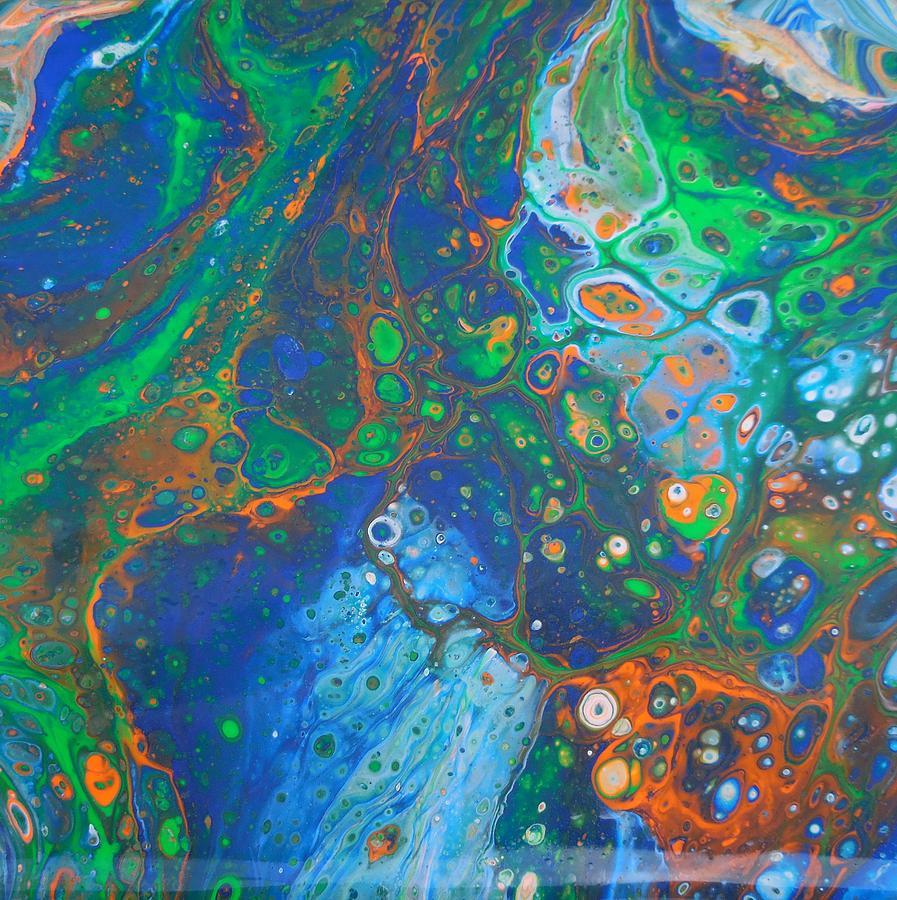 Psycho Ocean Mixed Media by Darin Black