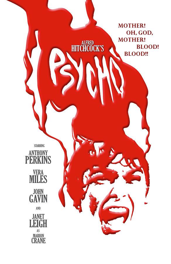 Psycho Digital Art - Psycho by Ron Regalado