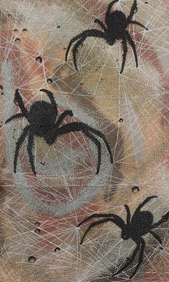 Spider Mixed Media - Psychomania by Arnuda
