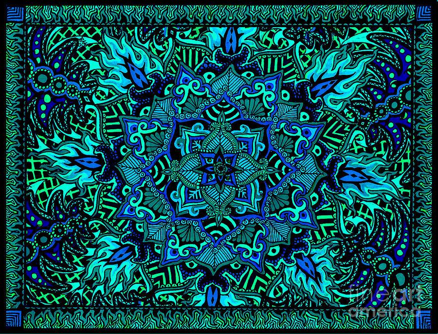 Psyformation Green Hue by Baruska A Michalcikova