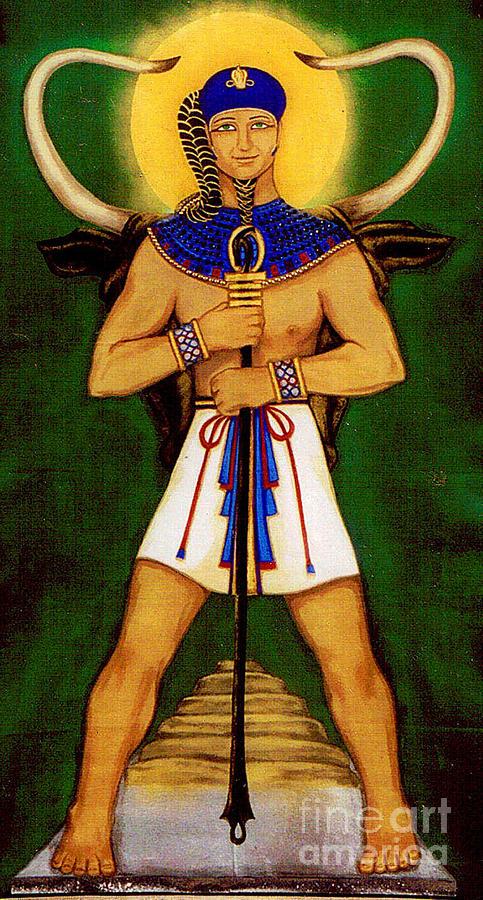 Ptah Painting By Diveena Seshetta