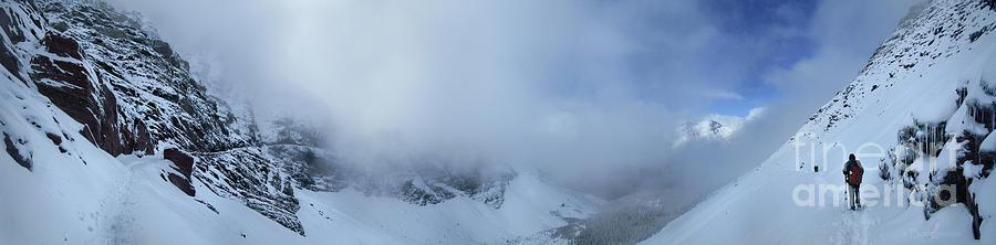 Glacier National Park Photograph - Ptarmigan Pass North - Glacier National Park by Bruce Lemons