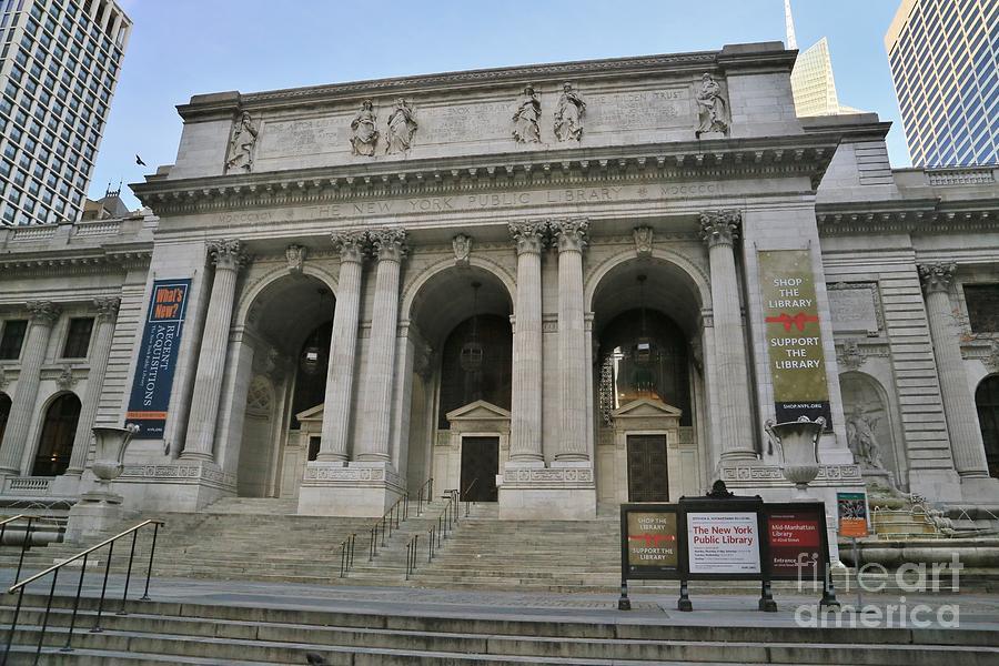 Destination Photograph - Public Library New York City by Douglas Sacha