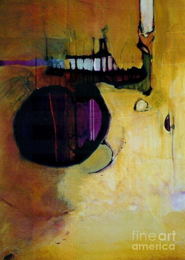 Abstract Painting - Published by Marlene Burns