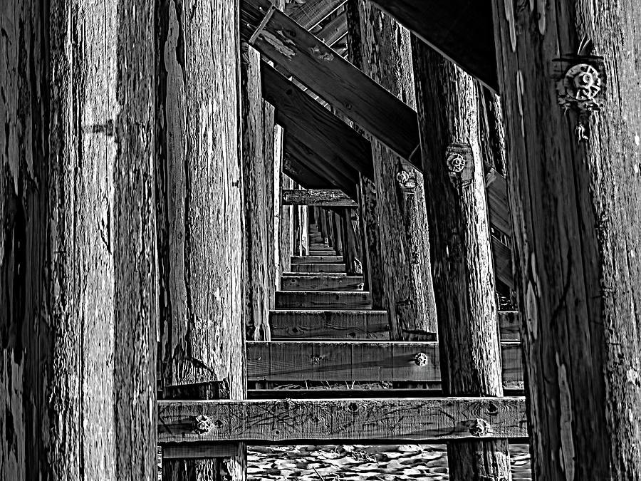 Fort Bragg Photograph - Pudding Creek Bridge  by Bill Gallagher