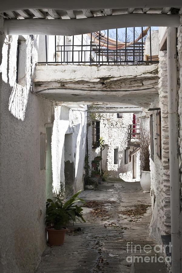 Puebla Blanca Capileira Photograph