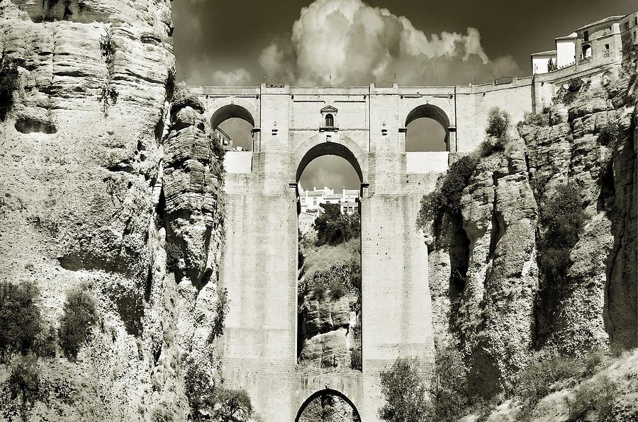 Bridge Photograph - Puente Nuevo Tajo De Ronda Andalucia Spain Europe by Mal Bray