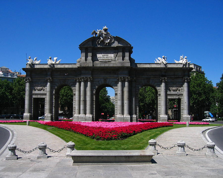 Spain Photograph - Puerta De Alcala by Lindsey Orlando