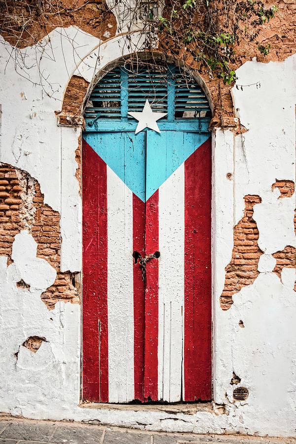 Puerto Rican Door by Oscar Gutierrez