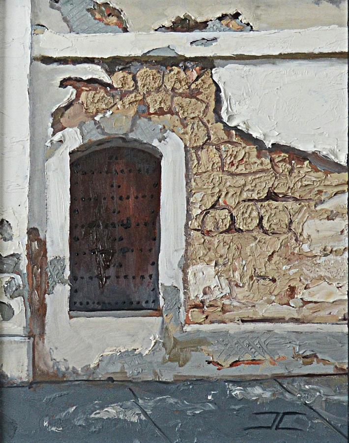 Puerto Rico Door by Jan Christiansen