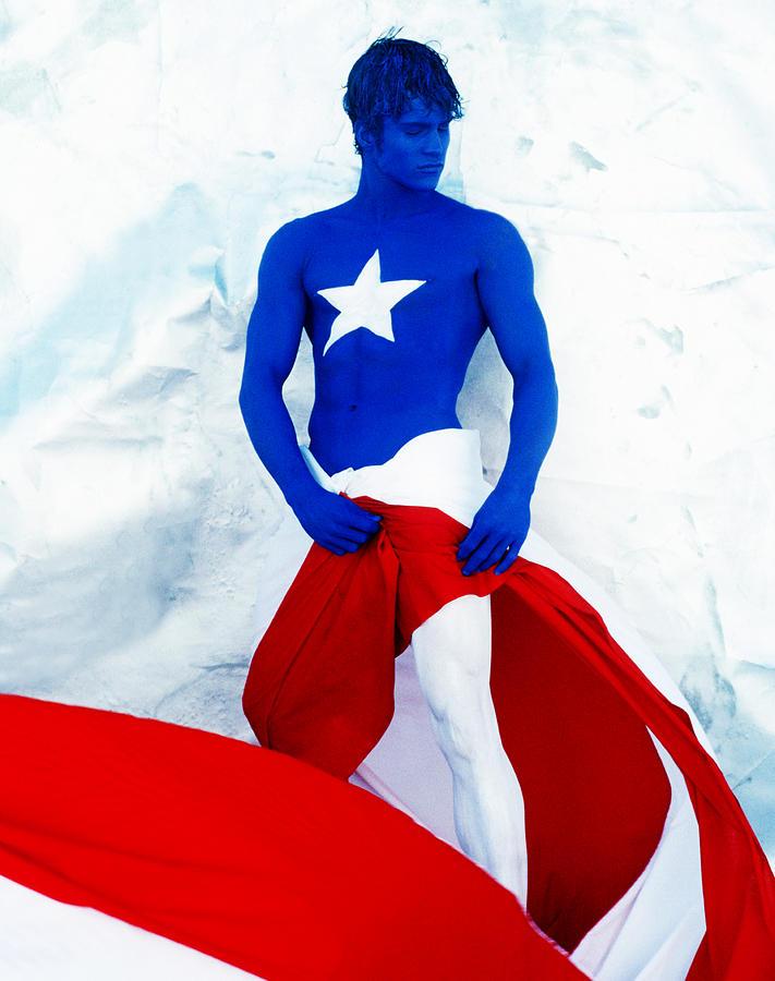 Puerto Rico Flag Photograph - Puerto Rico Flag by Filippo Ioco