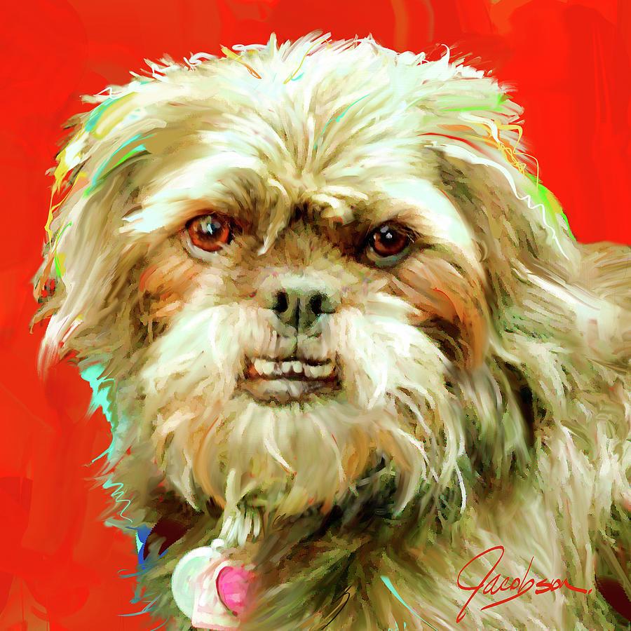 Pug-a-Poo by Jackie Jacobson
