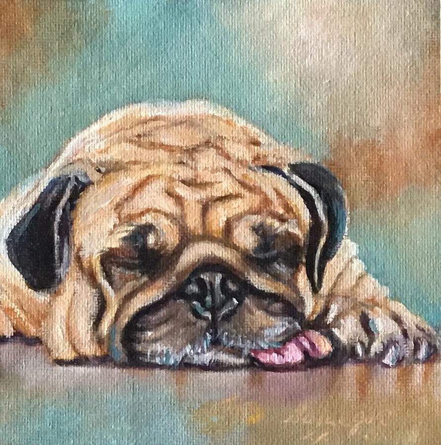 Pug by Susan Goh