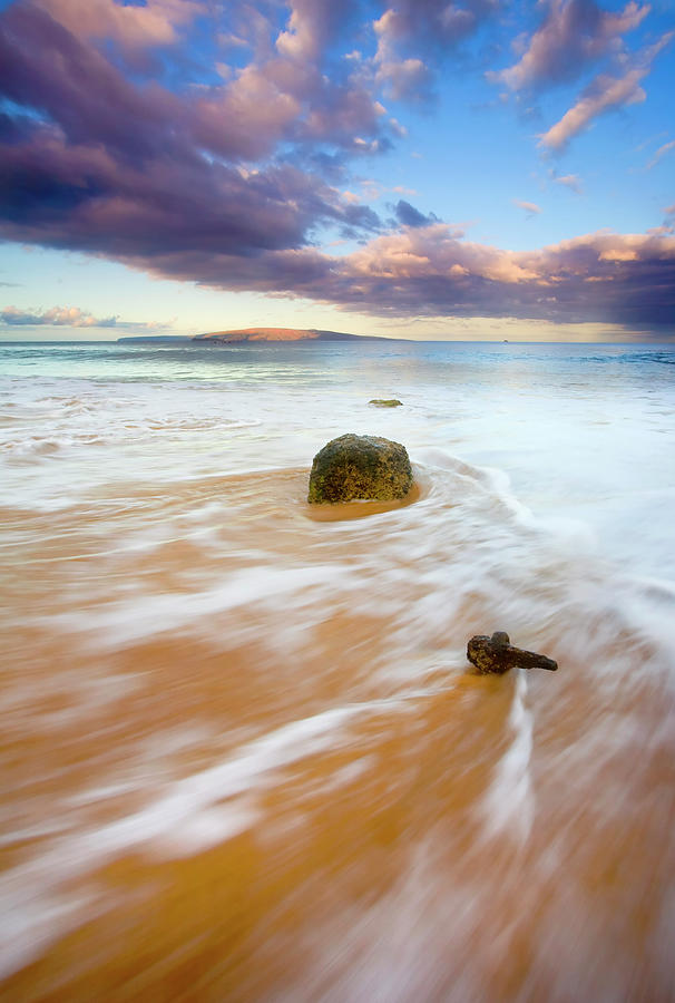 Cleat Photograph - Pulled To The Sea by Mike  Dawson