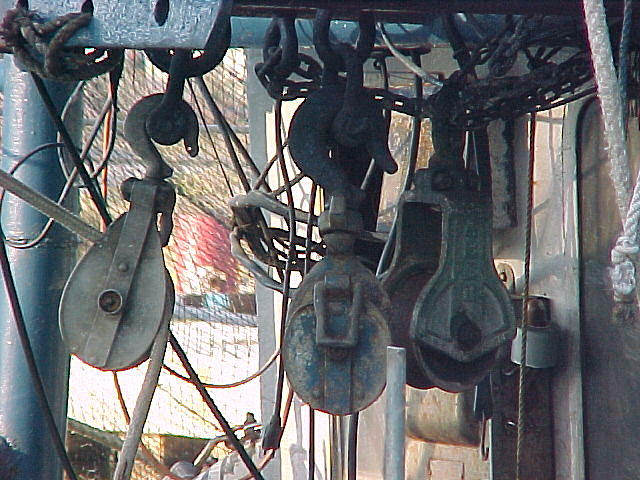 Fishing Photograph - Pulley Line-up by Dennis Pops Tangeman