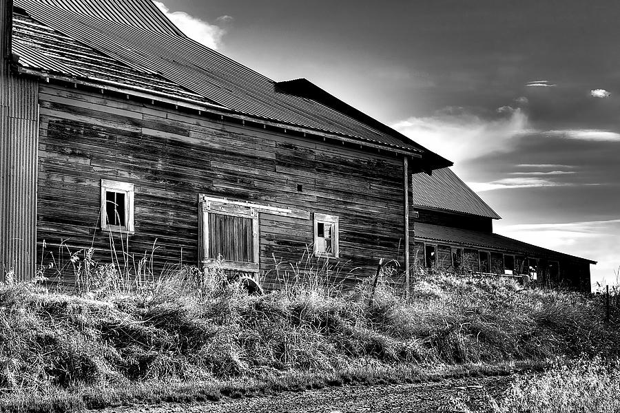Landscape Photograph - Pullman Barns by David Patterson
