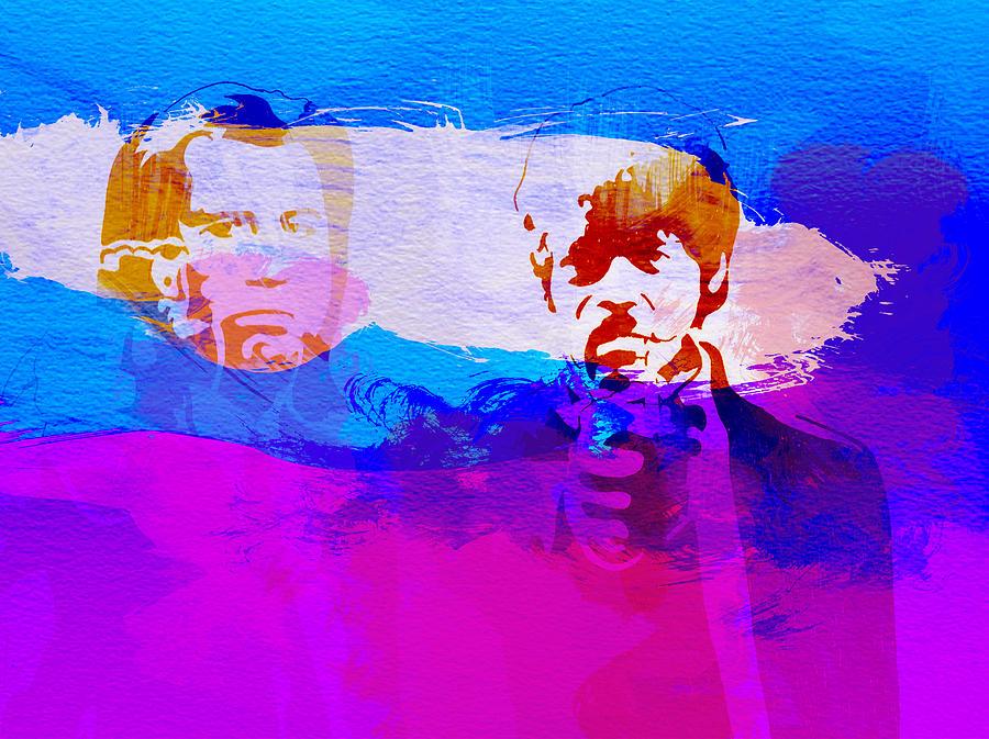 Pulp Fiction Painting - Pulp Fiction by Naxart Studio