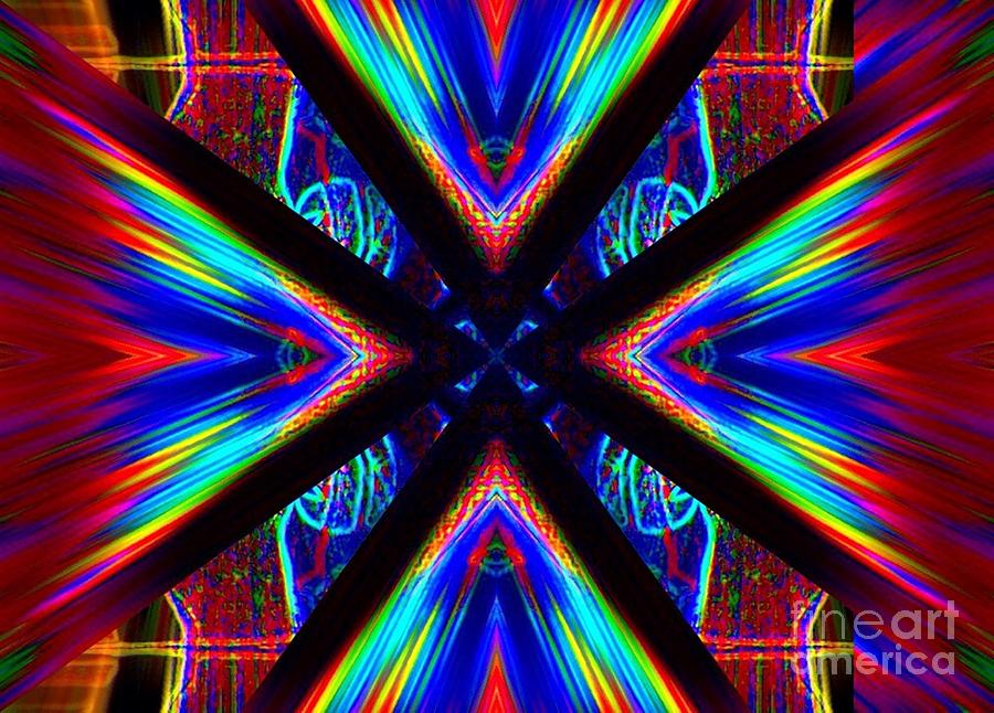 Abstract Digital Art - Pulsation by Lorles Lifestyles