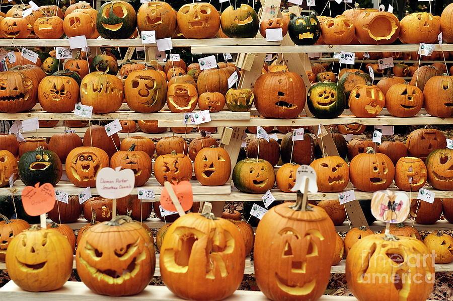 Cheshire County Photograph - Pumpkin Festival. by John Greim