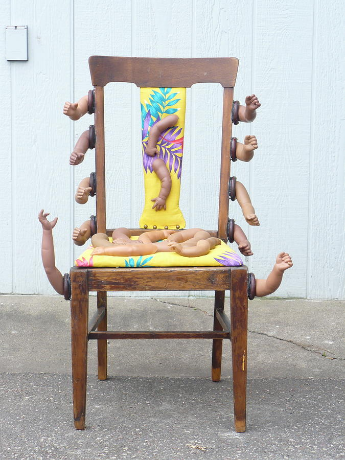 Chair Sculpture - Pun Intended by Todd Peterson