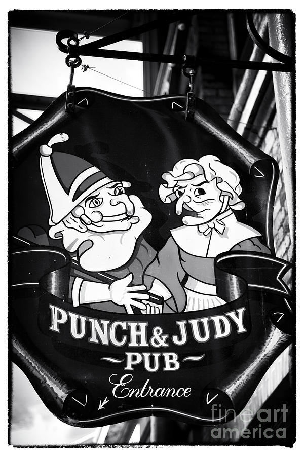 Punch And Judy Pub Photograph - Punch And Judy Pub by John Rizzuto