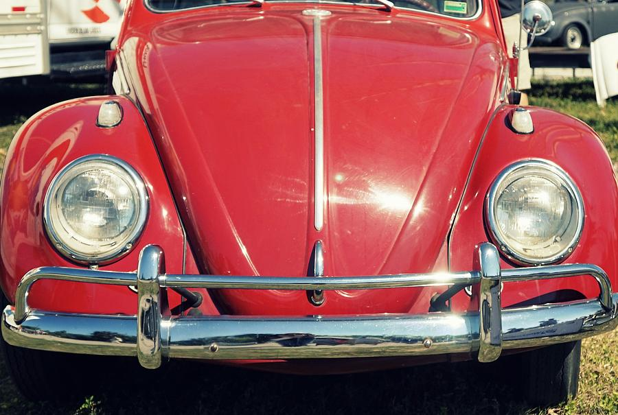 Punch Buggy Car >> Punch Buggy Red Photograph By Laurie Perry