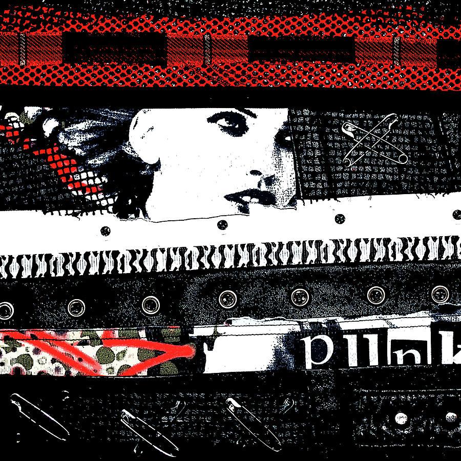 Punk Chick Digital Art