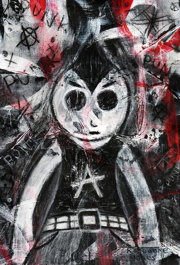 Punk Rock Pete Mixed Media